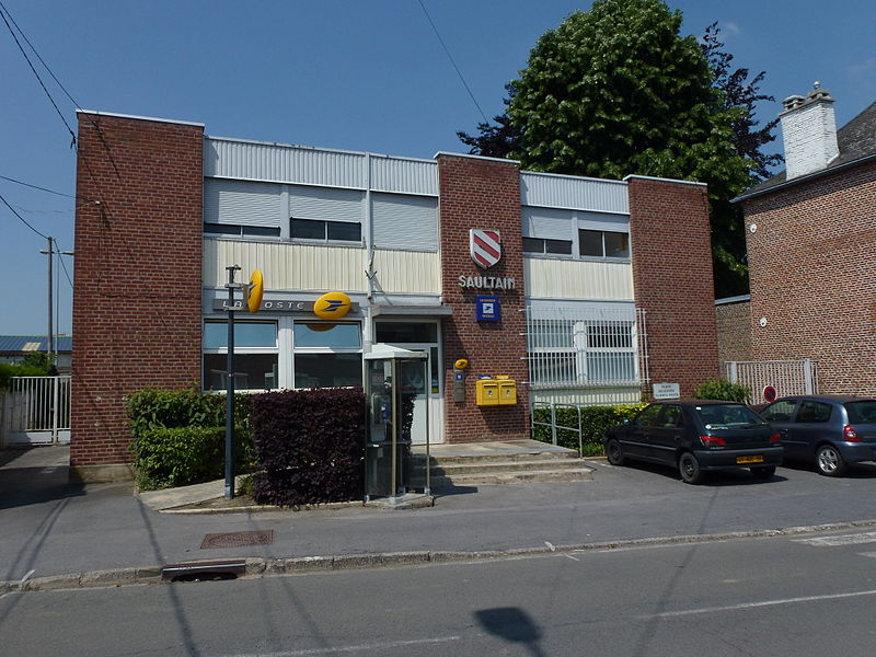 Saultain (Nord, Fr) la Poste