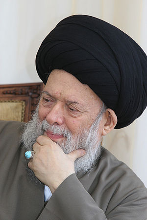 Mohammad Hussein Fadlallah - Image: Sayed Mohammad Hussein Fadlallah