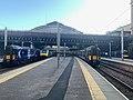 Scene on platform in Glasgow Queen Street railway station 03.jpg