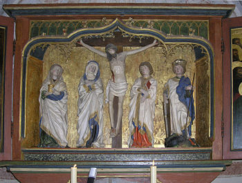 Altar of Scharenstetten (around 1450)
