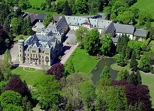 The Black Abbot (1963 film) - Schloss Herdringen, used as Chelford Manor in the film
