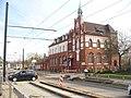 Schmoeckwitz - Strassenbahnbaustelle (Tramway Works) - geo.hlipp.de - 34925.jpg