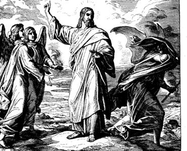 Schnorr von Carolsfeld Bibel in Bildern 1860 176
