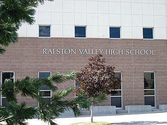 Ralston Valley High School - School exterior