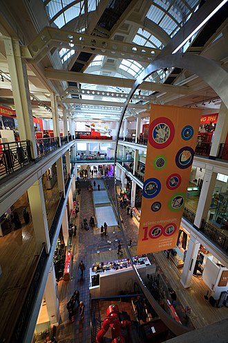 Science Museum, London - The East Hall