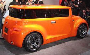 Scion (automobile) - Scion Hako concept