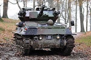 Modern vehicles of the Irish Army - Image: Scorpion CRVT (4120179150)
