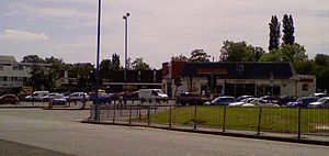 Great Barr - The Scott Arms junction, the traditional centre of Great Barr.