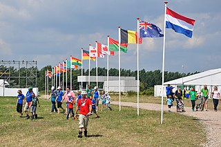 Dutch National Jamboree Scouting Event held in the Netherlands