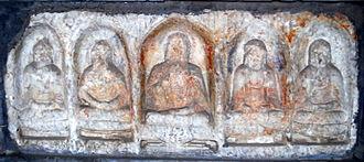 Jicheng (Beijing) - Tang era Buddhist sculpture by Li Shourong