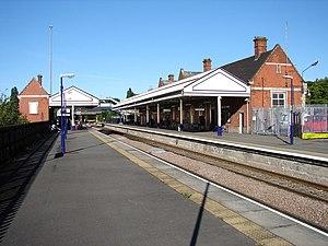 South Humberside Main Line - Scunthorpe Railway Station