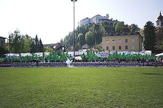 SV Austria Salzburg - Image: Sdorf 01