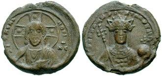 Irene Doukaina - Lead seal of Irene