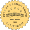 Official seal of City of Garden Grove
