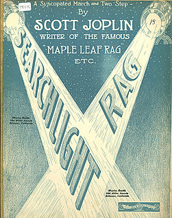 Searchlight Rag ragtime by Scott Joplin