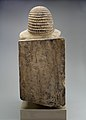 Seated Statue of the Nomarch Idu II of Dendera MET 98.4.9 EGDP019070.jpg