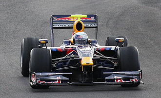 Red Bull Racing - Sebastian Vettel driving the RB5 at pre-season testing at Jerez.