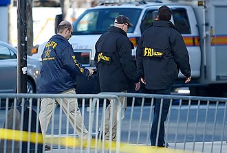 United States Secret Service - Secret Service and FBI agents investigate the Boston Marathon bombing