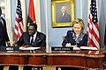 Secretary Clinton and Angolan Foreign Minister Asuncao Afonso dos Anjos Sign a Memorandum of Understanding (2).jpg
