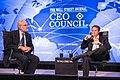 Secretary Geithner interviewed at the Wall Street Journal CEO Council (8188772180).jpg