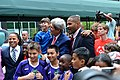 Secretary Kerry With Young Athletes and Sports Envoys Scurry, Jones and Sanneh (13856029723).jpg