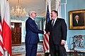 Secretary Pompeo Meets With Polish Foreign Minister Czaputowicz (41543822154).jpg