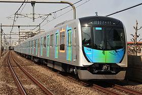 西武40000系電車(中村橋駅 2017年3月)