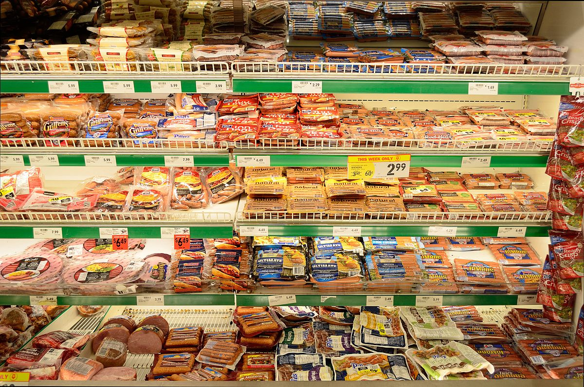 Image result for processed meat