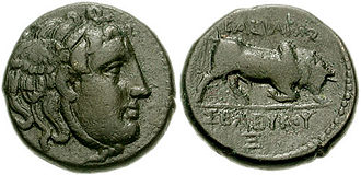 Medusa - Coins of the reign of Seleucus I Nicator of Syria, (312-280 BC.)
