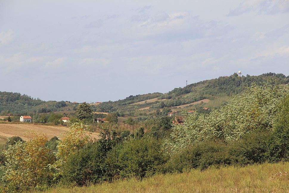 Selo Blizonje - opština Valjevo - zapadna Srbija - Panorama 3