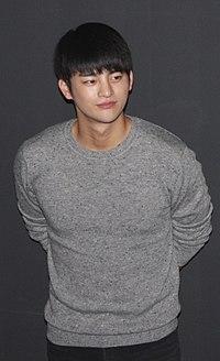 """Seo In-guk at """"No Breathing"""" stage greeting in Busan in November 2013 01.jpg"""