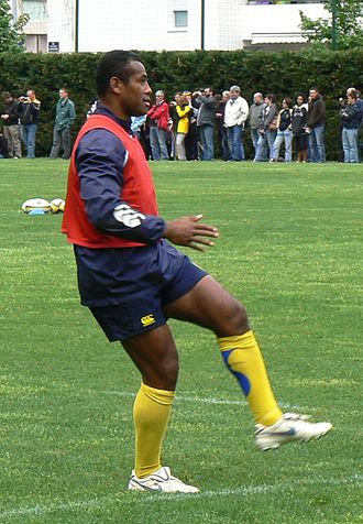 Seremaia Bai - Bai training with Clermont Auvergne.