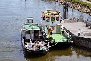 Service vessels on the Danube.JPG