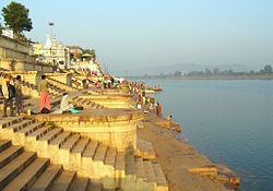 Sethani Ghat is an important landmark of the city.