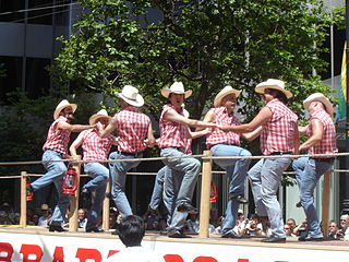 Gay square dance