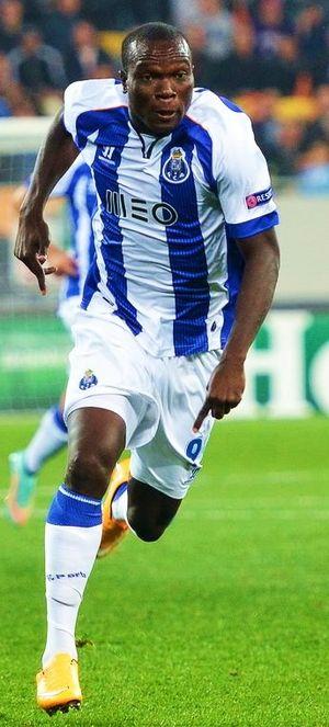 Vincent Aboubakar - Aboubakar with Porto in 2014