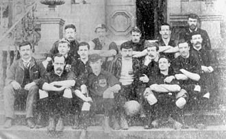 Sheffield F.C. - The Sheffield squad pictured in 1890.