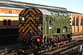 Sheffield Park - D4106 passing the shed.JPG