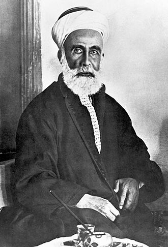 Hussein bin Ali, Sharif of Mecca - Sharif Hussein in December 1916