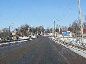 Shimsk - Panorama from the bridge