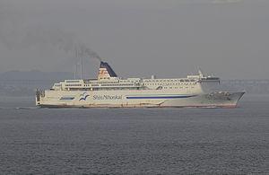 Shinnihonkai Ferry ferry shirakaba at Seto Inland Sea.jpg