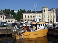 Ship in Oslo harbour.JPG