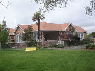 Shirley, New Zealand - The Shirley Community Centre displaying significant earthquake damage