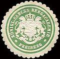 Siegelmarke Königlich Saechsische Bergacademie - Freiberg W0213487.jpg