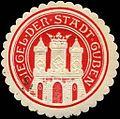 Siegelmarke Siegel der Stadt Guben W0205085.jpg