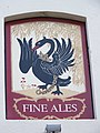Sign for the Black Swan, North Walsham - geograph.org.uk - 772304.jpg