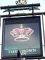 Sign for the Crown Inn, Newick - geograph.org.uk - 985108.jpg