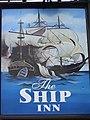 Sign for the Ship Inn, Flamborough - geograph.org.uk - 604919.jpg