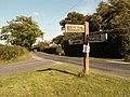 Signpost along Pebmarsh Road, Essex - geograph.org.uk - 244461.jpg