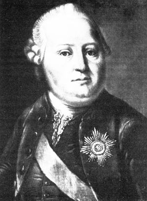 Simon August, Count of Lippe-Detmold - Simon August, Count of Lippe-Detmold